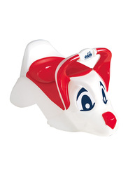 Cam Dudu Anatomical Baby Seat Removable Potty, Dog, Red