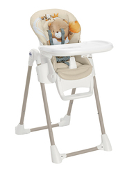 Cam Pappananna Baby High Chair, Bear, Brown