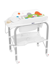 Cam Cambio Bathroom Changing Table for Baby, Mouse, Grey/White