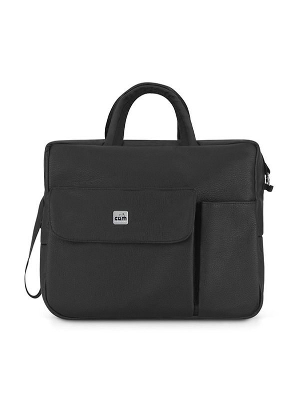 Cam Mila Changing Diaper Bag for Baby, Black