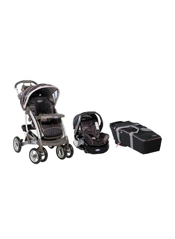 Graco Quattro Tour Travel System Baby Stroller, Black