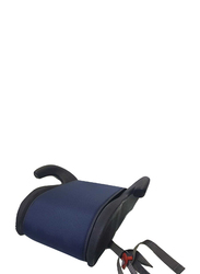 Cam Pony Booster Seat with Belt Guide and Armrests, Blue