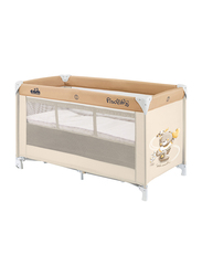 Cam Pisolino Baby Travel Bed, Bear, Beige