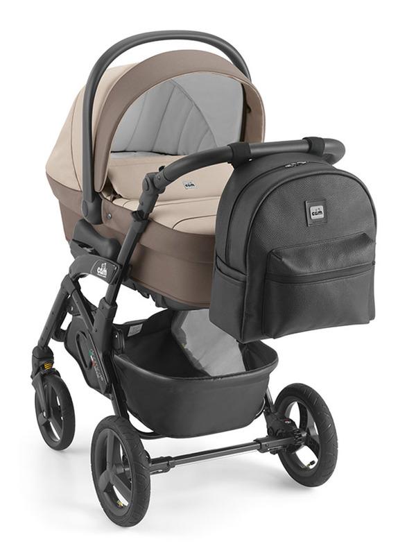 Cam Beki Changing Diaper Bag for Baby, Beige