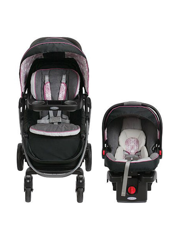Graco Modes Sport Click Connect Travel System Baby Stroller, Zola, Black