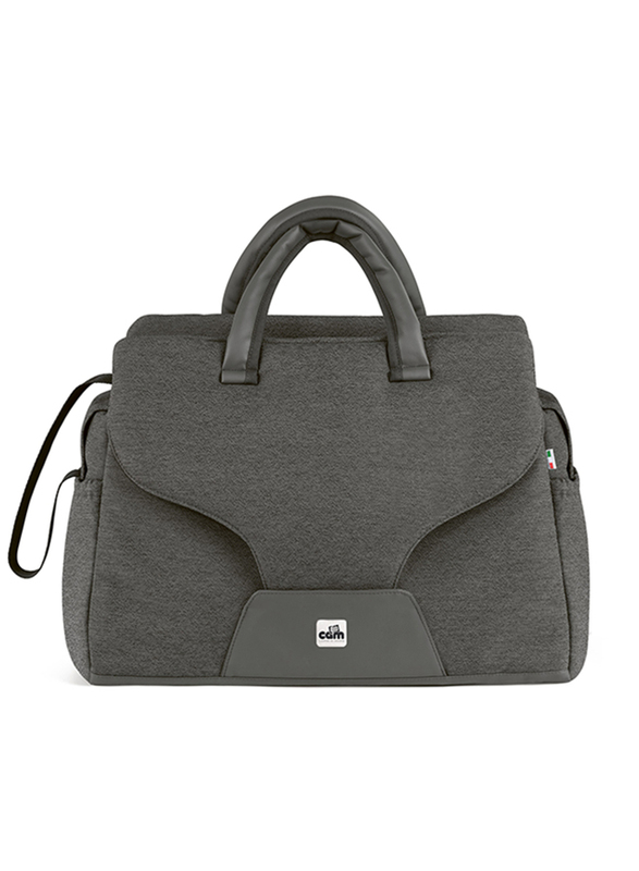 Cam Celine Changing Bag for Babies, Dark Grey