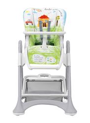 Cam Campione Baby High Chair, House, Green