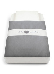 Cam Baby Bedding Kit for Cullami Cradle, Grey