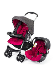 Graco BK Travel System Baby Stroller, Black/Red