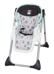 Baby Trend Sit-Right 3-in-1 Baby High Chair, Lil Adventure, Green
