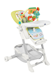 Cam Istante Baby High Chair, House, Green