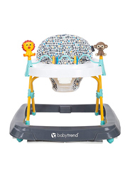 Baby Trend Baby Walker, Zoo-Ometry, White/Blue