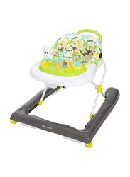 Baby Trend 4.0 Activity Walker, Dino Buddies, White/Green