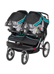Baby Trend Navigator Jogger Baby Stroller, Tropic, Blue/Black