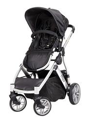 Baby Trend Reis Baby Stroller, Arctic Silver/Mystic Black