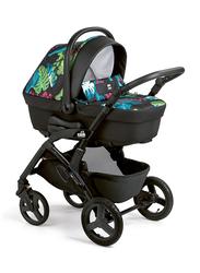 Cam Mod. Smart + Telaio Dinamico Up Baby Stroller, Forest, Blue/Black
