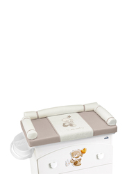 Cam Changing Mat for Baby, White