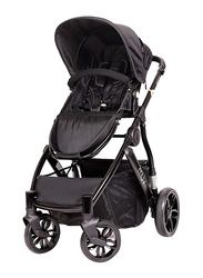 Baby Trend Reis Baby Stroller, Satin Black/Mystic Black