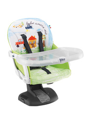 Cam Idea Booster Baby Feeding Chair, House, Green