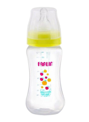 Farlin PP Wide Neck Baby Feeding Bottle 270ml, Yellow