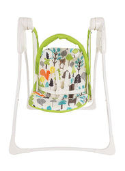 Graco Delight Baby Swing, Bear Trail, Green