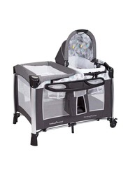 Baby Trend Golite Elx Nursery Center Play Yard with Bassinet, Drip Drop, Blue