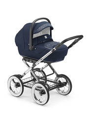 Cam Linea Classy Travel System Baby Stroller, Blue