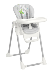 Cam Pappananna Baby High Chair, Rabbit, Grey