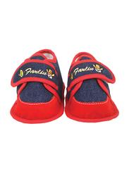 Farlin Baby Boots, 3-12 Months, Orange/Red