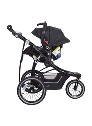 Baby Trend Turnstyle Snap Tech Jogger Travel System Baby Stroller, Gravity, Black