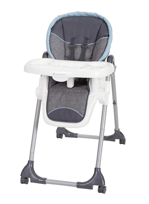 Baby Trend Dine Time 3-in-1 Baby High Chair, Starlight Blue