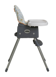 Graco Simple Switch Baby High Chair, Finch, Grey