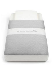 Cam Baby Bedding Kit for Cullami Cradle, Light Grey