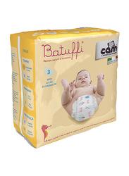 Cam Batuffi Diapers, Size 3, Infant, 4-9 kg, Midi, 20 Count