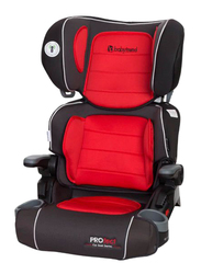 Baby Trend Protect Series Yumi 2-in-1 Folding Booster Kids Car Seat, Red/Black