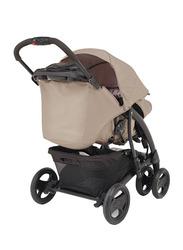 Graco Quattro Deluxe Travel System Baby Stroller, Beige