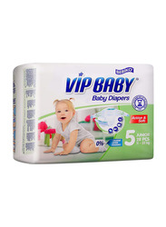 Bebiko Vip Active & Soft Baby Diaper, Size 5, Junior, 11-25 kg, 28 Count