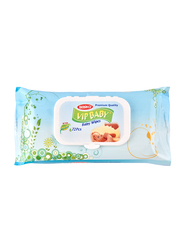 Bebiko Vip 72-Pieces Baby Premium Wipes, Blue