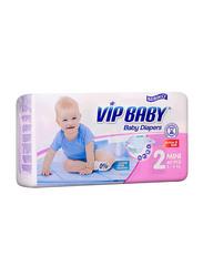 Bebiko Vip Active & Soft Baby Diaper, Size 2, Mini, 3-6 kg, 40 Count
