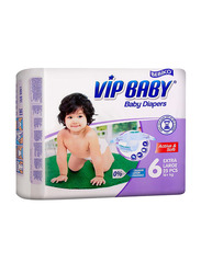 Bebiko Vip Active & Soft Baby Diaper, Size 6, Junior Plus, 16+ kg, 25 Count
