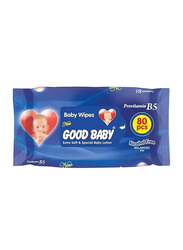Good Baby 80-Pieces Baby Wipes with Alcohol Free pH5.5