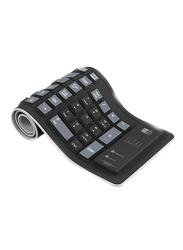 Heatz ZK04 Flexy English Keyboard, Black