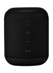 Bluedigit Vibra 5 Waterproof Portable Bluetooth Speaker, Black