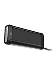 Heatz Lite Portable Bluetooth Speaker, with Torch Light, Black