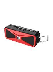 Heatz Pitch Portable Bluetooth Speaker, Red