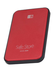Heatz 4TB HDD Disk Enclosure 2.0 Hard Disk, USB 3.0, Red