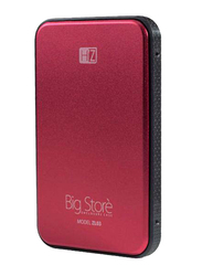 Heatz 4TB HDD Disk Enclosure 3.0 Hard Disk, USB 3.0, Red