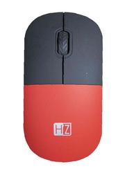 Heatz ZM05 Wireless Optical Mouse, Black/Red