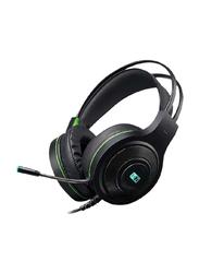 Heatz ZG01 Over-Ear Gaming Headset, Black