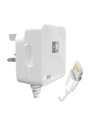 Heatz ZHI01 Wall Charger, 2.1A with Lightning to USB Charge Cable, White